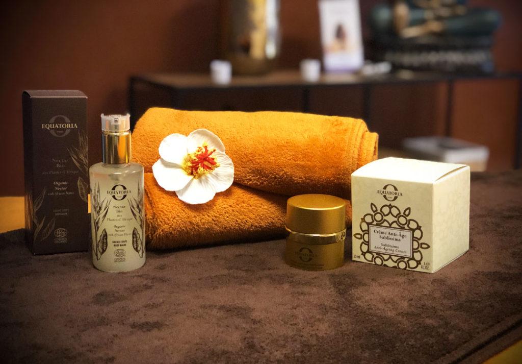 Massages, Soins Visage, SPA Escale Bien Etre Dole - Photo d'une serviette